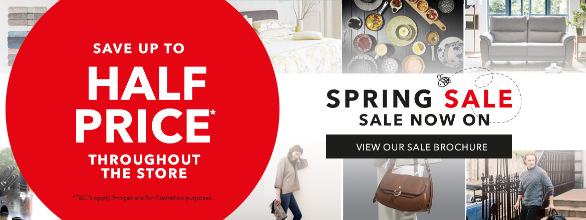 Spring Sale Starts Tomorrow